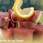Melon con jamon - Honing meloen met ham