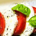 Caprese - Tomaat, mozzarella en basilicum