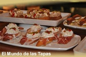 Pintxos - Ovenbrood met diverse toppings